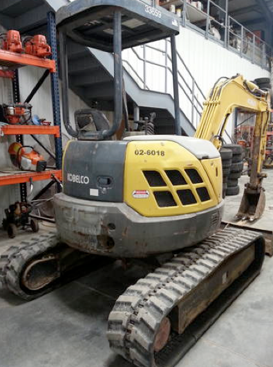mini excavator st. louis