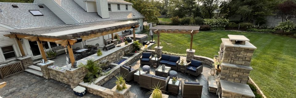 We can help transform your backyard into an extravagant gathering area
